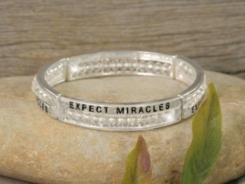 Expect Miracles Bracelet 2