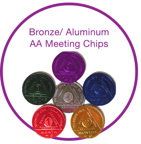 Bronze-alumnium-aa-meeting-chips