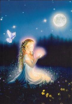 Beautiful Gift of Love Glitter Birthday Card