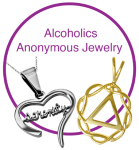 Alocholics Anonymous jewelry